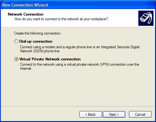Virtual Privat Network connection